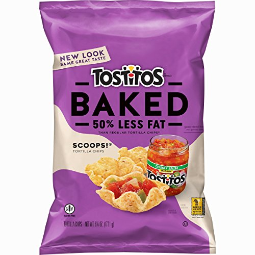 - Tostitos Oven Baked Tortilla Chips, Scoops, 6.25 Ounce