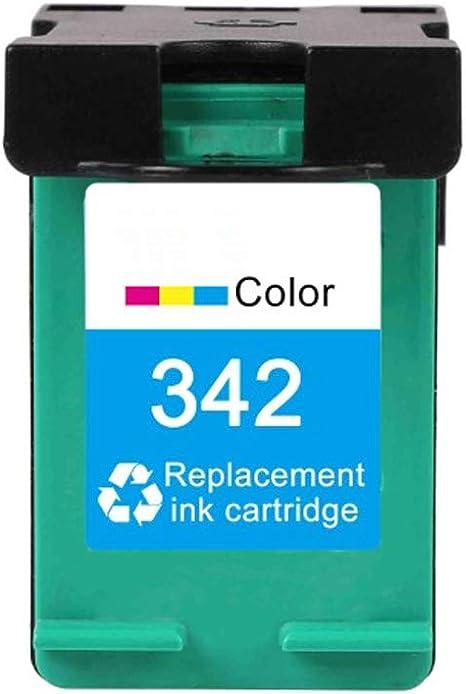 Caidi Cartuchos de Tinta remanufacturados HP 336 342, Compatible ...