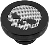 06-14 HARLEY FLHX2: Biker's Choice Gas Cap With Skull Screen
