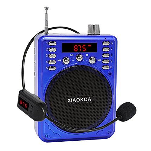 XIAOKOA Bluetooth Amplifier Wireless Microphone