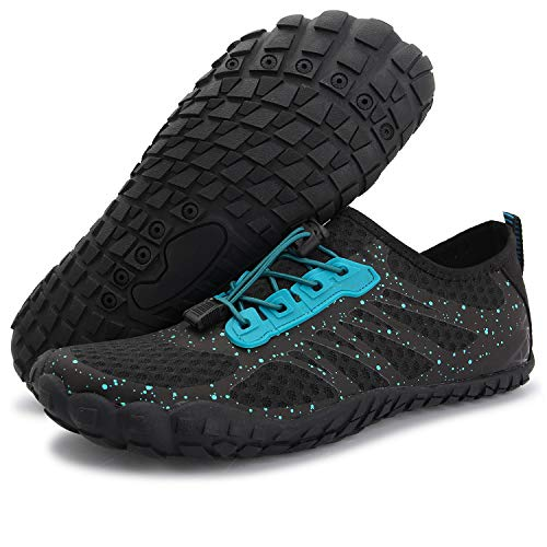 - Centipede Demon Women's Slip-on Athletic Water Shoes Quick Dry Barefoot Shoes for Mens Black Women 6.5 M