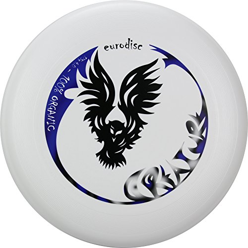 Eurodisc 175g not Discraft Ultimate Frisbee Disc design CREATURE White