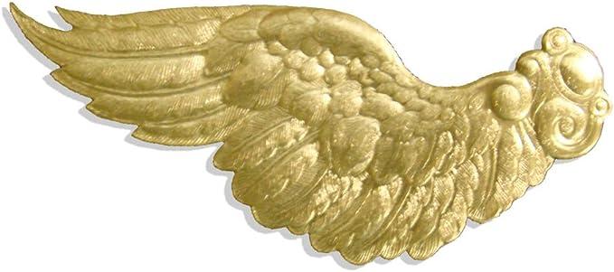 VBS Engelsfl/ügel 12 x 10 cm Weihnachts-Deko aus Naturmaterial
