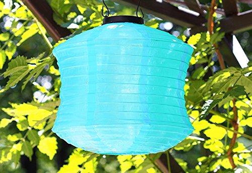 Spool-Shaped LED Solar Lanterns (Set of 3) -