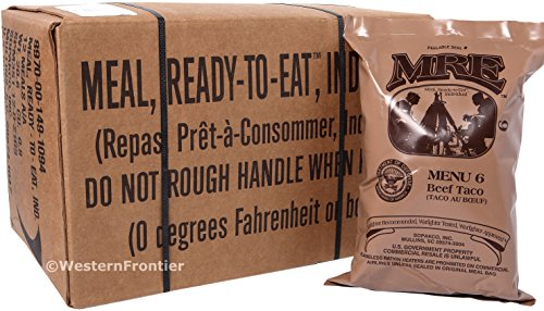 Western Frontier MRE 2018 Inspection Date Meals Ready-to-Eat bf7055ec22