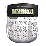 Wholesale CASE of 15 - Texas Inst. Angled 8-Digit Display Calculator-8-Digit Solar Display Calculator,4-7/8''x5-2/3''x1'',Gray