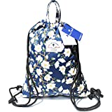 Drawstring Backpack Original Tote Bags for Gym Hiking Travel Beach 2 Sizes