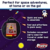 Playz 5-in-1 Rocket Ship Play Tent for Kids with