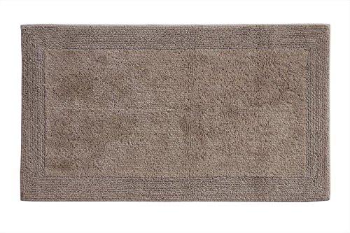 Grund Certified 100% Organic Cotton Reversible Bath Mat, Puro Series, 21-Inch by 34-Inch, Choco Cream