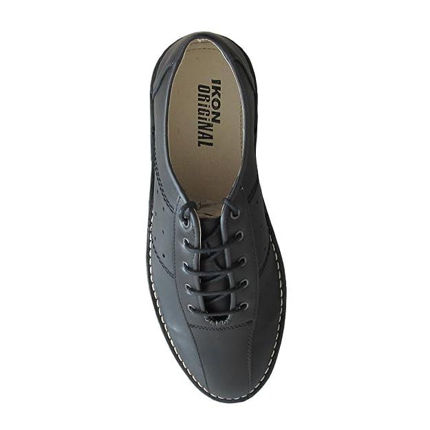 5a38545650d5f Ikon Original Mens Marriott Mod 60s 70s Leather Bowling Shoe