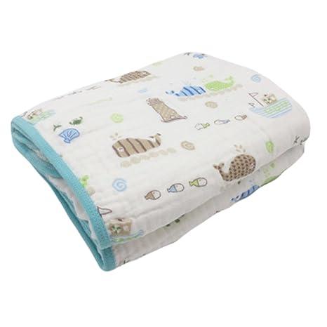 Hehong Thicken Muslin Toallitas para bebé y niños Swaddle Blanket ...
