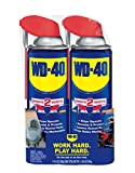 WD-40 Multi-Use Product with SMART STRAW SPRAYS 2 WAYS 14.4 OZ [2-Pack]