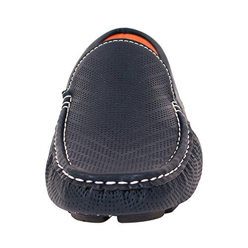Beverl St Manar Skor Dressy Mocassin Loafers (rds43 Marinblå)