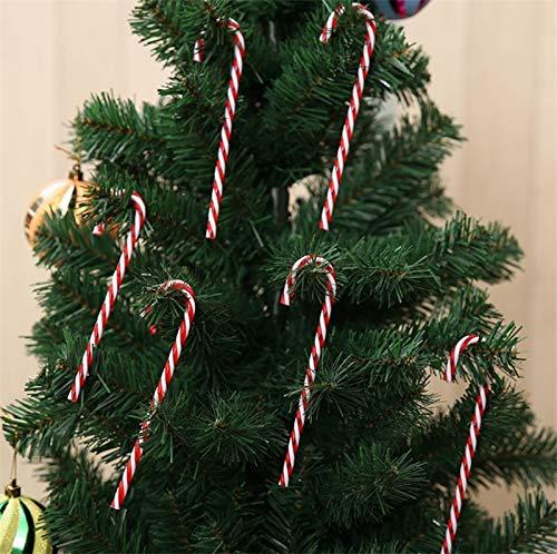 - Santa Claus Bag - Wholesale 6pcs Pack Xmas Hanging Candy Cane Christmas Tree Ornaments Crutch Pendant Decor Party - Christmas Christmas Gift Candy Christmas Candy Santa Cane Crutch Christmas Orn