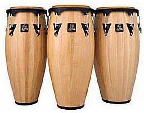 Latin Percussion LPA612-DW LP Aspire Wood 12-Inch Tumbadora - Dark Wood/Black (1 UNIT) (Lp Aspire Bongo Head)
