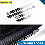 Accessories Stainless Steel Door Sill Plate Car Styling For VW Volkswagen Golf 7 MK7 2013 2014 2015