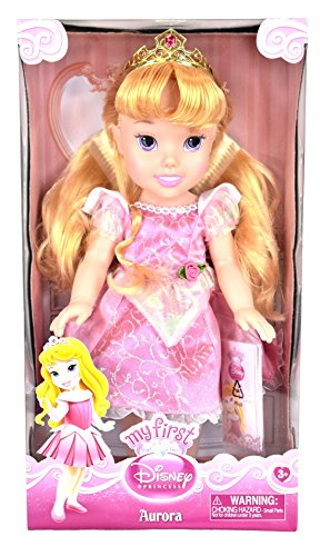 [My First Disney Princess Toddler Doll - Aurora] (Princess Jasmine Costumes Tiara)