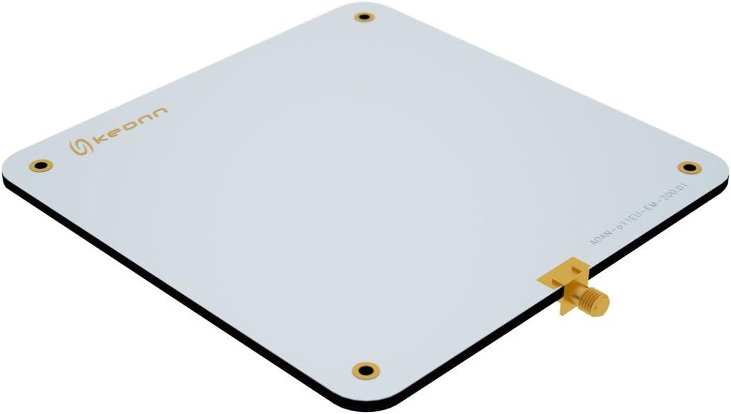 Keonn Advantenna-p11 UHF Antena RFID (902-928 MHz) – SMA Hembra Edge Mount Conector Tipo