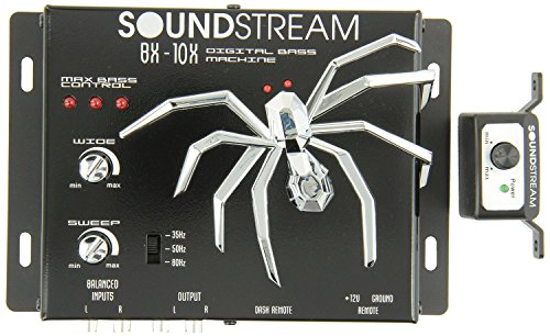 - Soundstream Bx10x Bass Reconstruction Processor -Black