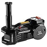 Husky 1-Ton Multi-Function 2-in-1 12-Volt Jack/Inflator