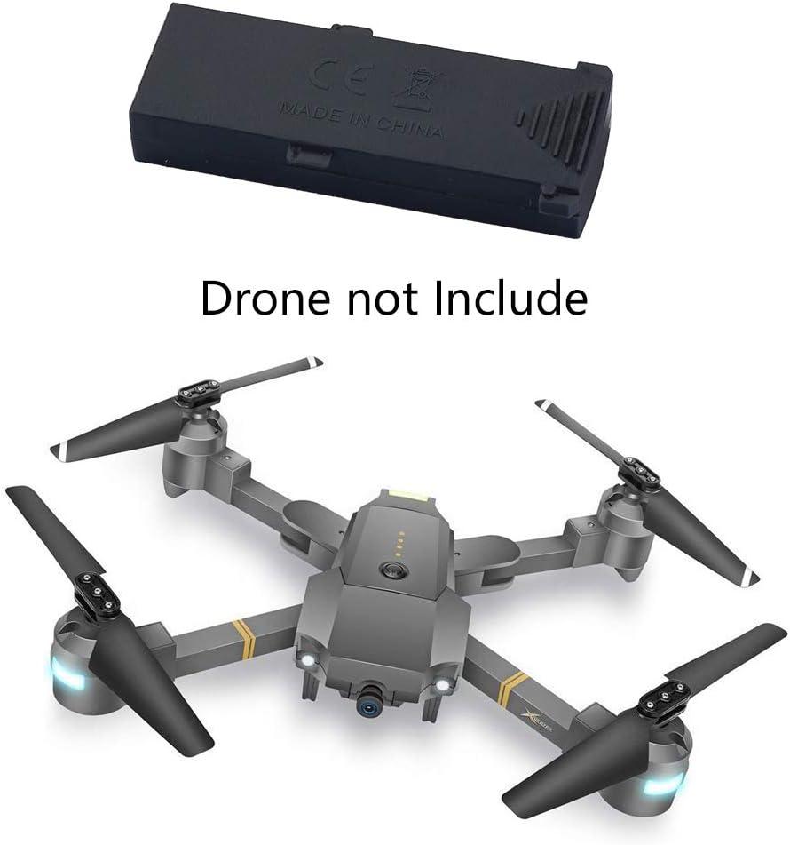 WINGLESCOUT Batería de Drones Plegable, Cellsatr Extra LiPo batería Recargable de Drones - 3.7V 800mAh para Drones XT-1 (1 batería): Amazon.es: Juguetes y juegos