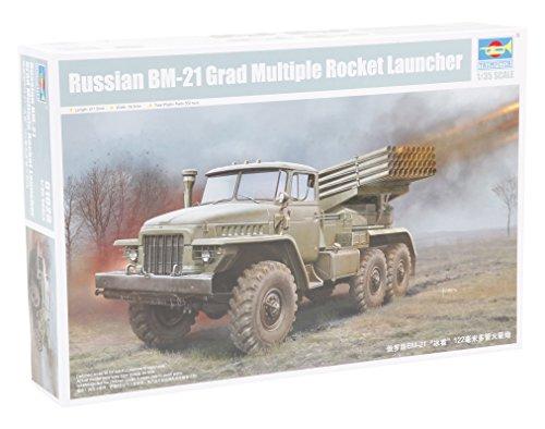 - Trumpeter Russian Bm-21 Grad Multiple Rocket Launcher Armor Model Kit