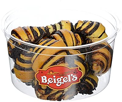 Beigel's Chocolate Pastry Rugela,Kosher Pack Of 1.