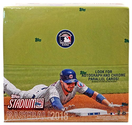 Stadium Club - Topps 2018 Stadium Club Baseball Retail Display Box