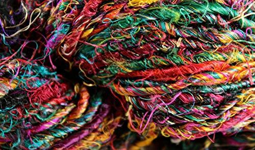 Banana Silk Yarn- Fair Trade- Festival- 100g Skein (Fair Trade Banana)