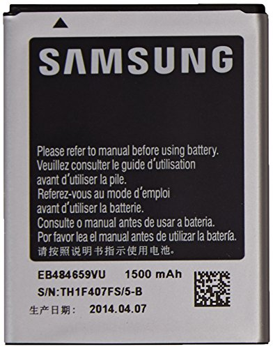 Samsung Original OEM Samsung EB484659VA 1500mAh Spare Replacement Li-ion Battery for Samsung Gravity Smart and Gravity Touch 2 - Battery - Non-Retail Packaging - Silver (Battery Samsung Smart Gravity)