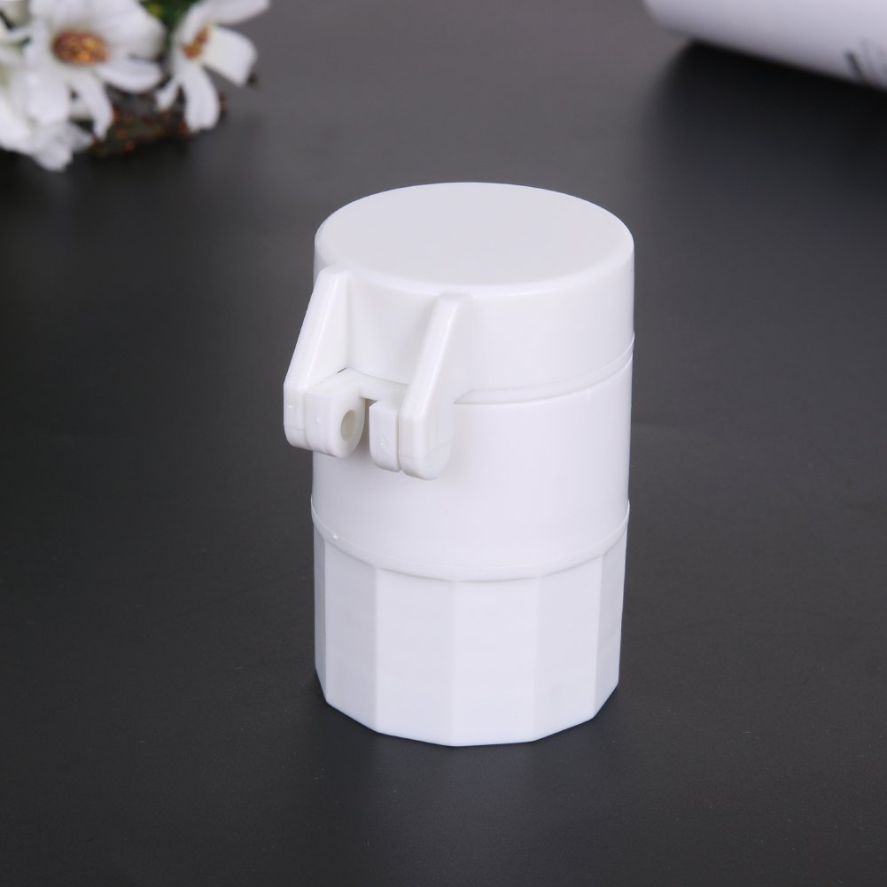 TM Multi Purpose Practical Pill Crusher Tablet Divider Layer Storage Box Container Green Pyracin