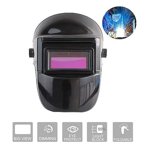 2 Piezas de Cascos Soldador Tig Mig Soldadura Máscaras Protección para Cabeza Equipos e indumentaria de seguridad Prevención y seguridad
