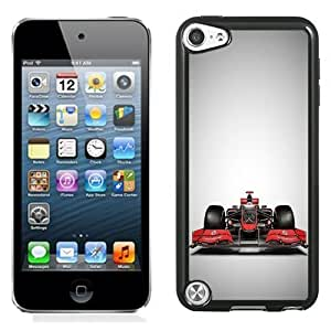 NEW Unique Custom Designed iPod Touch 5 Phone Case With Vodafone Formula 1 Race Car_Black Phone Case