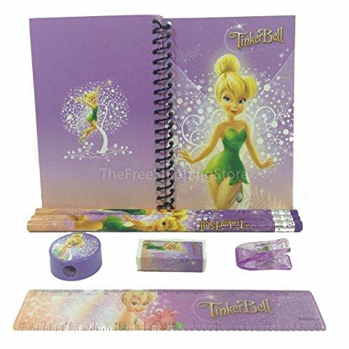 Disney Tinkerbell Stationary Set for Kids - Stationary Tinkerbell