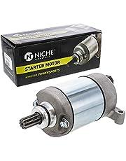 NICHE Starter Motor Assembly 28P-81890-00-00 High Torque for 2009-2019 Yamaha Grizzly 550 Kodiak 700 YFM550 YFM700