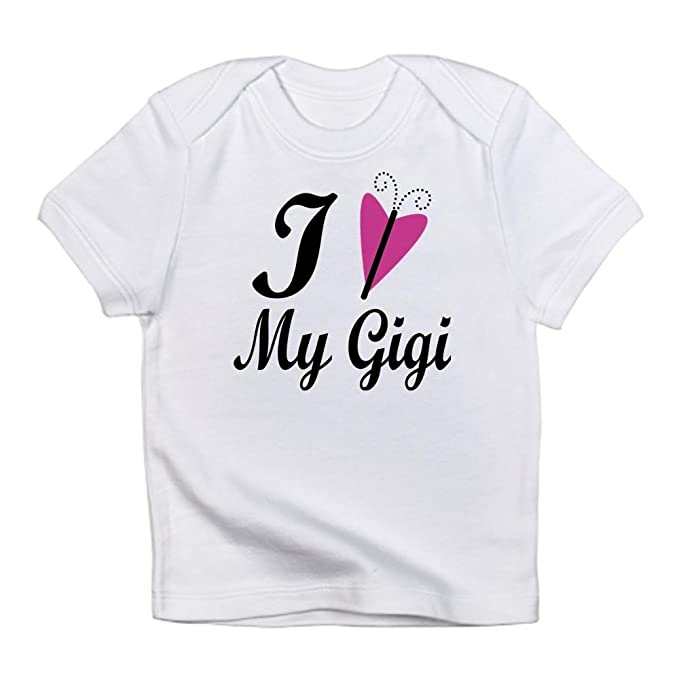 ef6f554f8 Amazon.com: CafePress - I Heart My Gigi Infant T-Shirt - Cute Infant ...