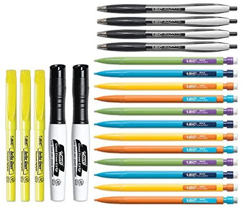 BIC Assorted Stationery Essentials 21 Count