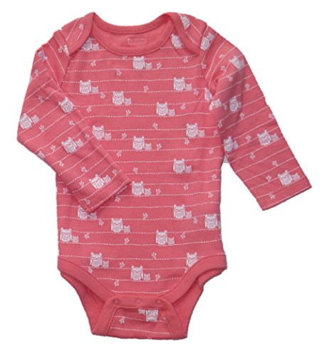 baby-gap-girls-pink-owls-bodysuit-6-12m