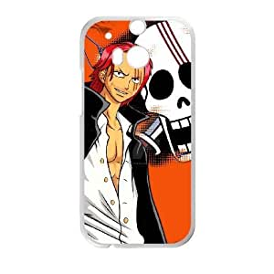 HTC One M8 Phone Case White Red-Haired Shanks WE9TY650217
