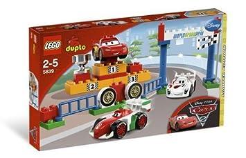 Lego Duplo Cars 5939 World Grand Prix Amazoncouk Toys Games