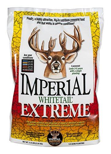 - Whitetail Institute Imperial Extreme Food Plot Seed (Spring and Fall Planting), 23-Pound (1acre)