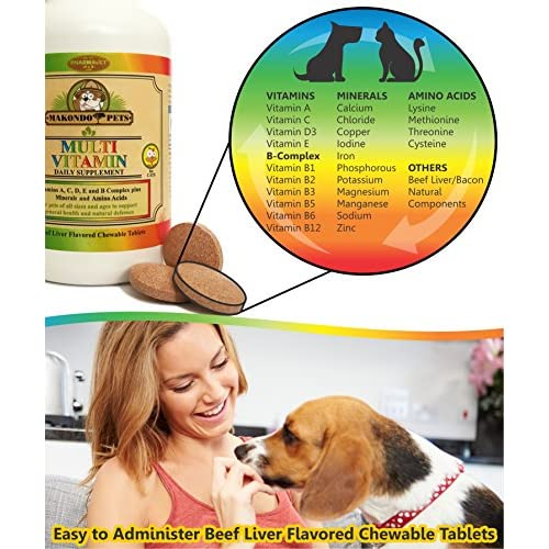 cheap Multivitamin for Dogs and Cats by Makondo Pets