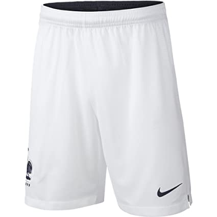 grande vente ba2eb d6162 Amazon.com: NIKE 2018-2019 France Home Shorts (White) - Kids ...