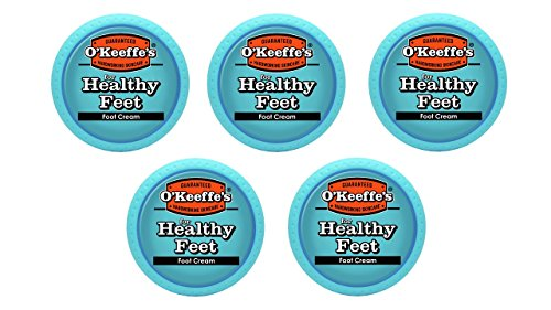 O'Keeffe's K0320001-5 Healthy Feet Foot Cream in Jar (5 P...