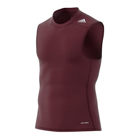 ed6dde814e37b Image Unavailable. Image not available for. Color  Adidas Techfit Base Sleeveless  Mens Training Tee