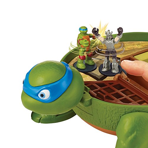 Teenage Mutant Ninja Turtles Micro Mutant Leonardo's Dojo Pet to Turtle Playset