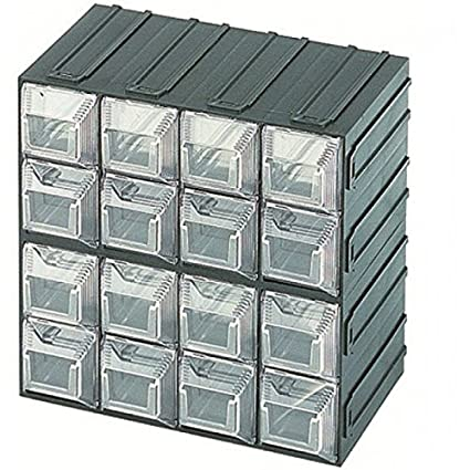 Cassettiere In Plastica Per Minuterie.Cassettiera Porta Minuteria In Plastica 16 Cassetti 43x108x44 Cm