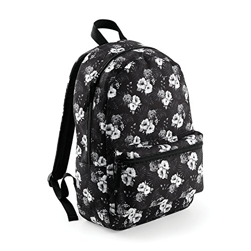 BagBase mochila de Graphic Negro - Black Geometric