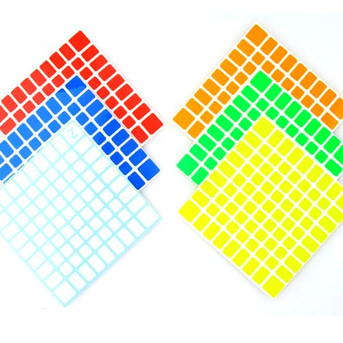 1 Set of Replacement Z Stickers for ShengShou 9x9x9 Bright Set NEW