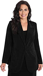 product image for Vikki Vi Women's Plus Size Blazer